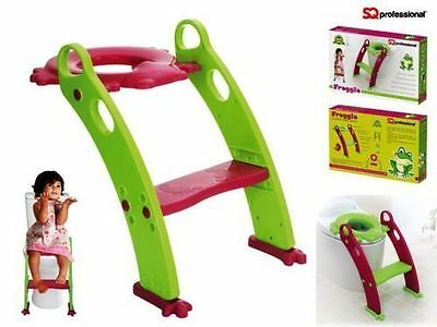 Children's Toddler Ladder Potty Training Step Up Kids Seat Fits Most Toilet