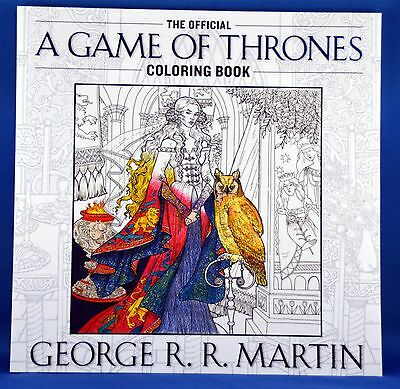 The Official A Game of Thrones Coloring Book Adult