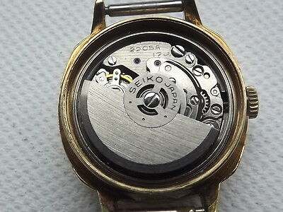 vintage Seiko cal 2205A ladies watch for spares