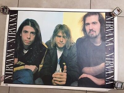 "Nirvana Group Poster - 35"" x 25"""