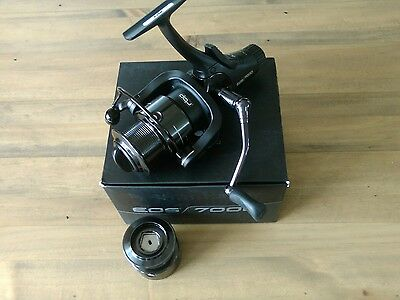 fox eos 7000 freespool fishing reel with spare spool