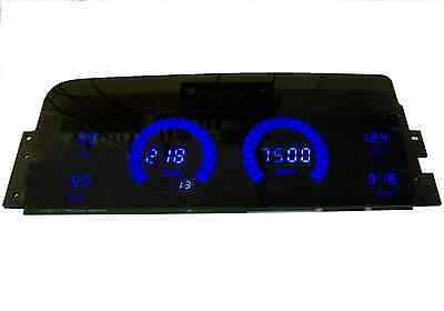 Chevy Truck DIGITAL DASH PANEL FOR 1995 - 1999 Chevy GMC Intellitronix BLUE LED!
