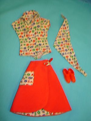 #1624 Fun at the Fair 1965 Outfit Vintage Barbie doll