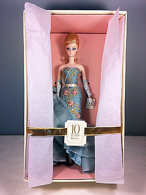 2010 10 Year Tribute Barbie Doll - BFMC Gold Label Silkstone - Mint NRFB