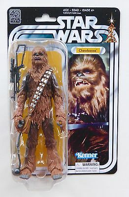 """Star Wars New Black Series 6"""" Inch 40Th Anniversary Wave 2 Chewbacca Moc Tbs Anh"""