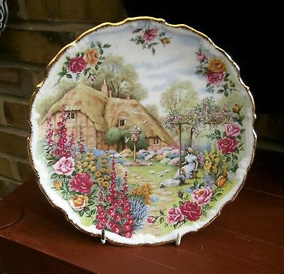 Royal Albert Tranquil Garden Plate...in Super Condition