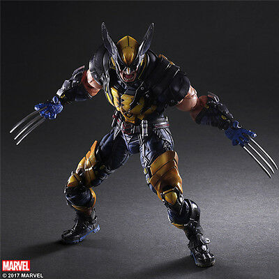 Marvel Universe Variant Play Arts Kai Wolverine Action Figure Collectible Statue
