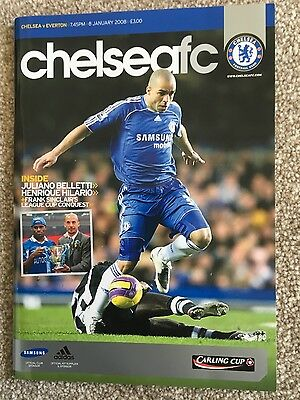 Chelsea v Everton (League Cup Semi-Final) 2008-2009