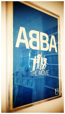 Abba The Movie // Original 1977 Turkish Promotional Poster