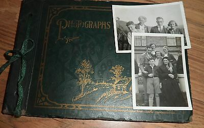 Small Old Photo' Album Car Zoo Animals  Wedding Family