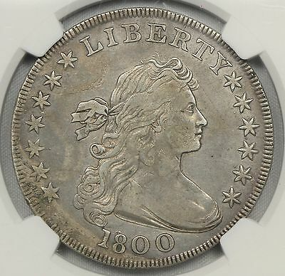 Ngc Vf Details (Looks Xf) 1800 Draped Bust Silver Dollar $1  (Bcz1)