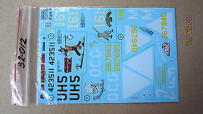 Decal for P-38 Lightning    1/32  Print Scale # 32-012  NEW!!!