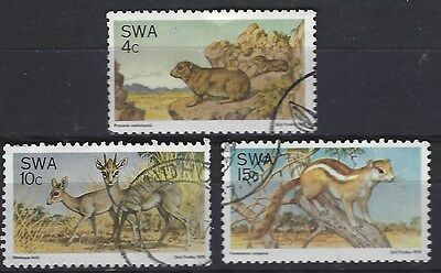 South West Africa 1976 Nature Protection Complete Used Set 0002
