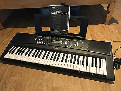 yamaha digital keyboard ez 220 and in the original box