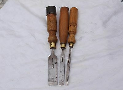 3 Assorted Firmer Chisels