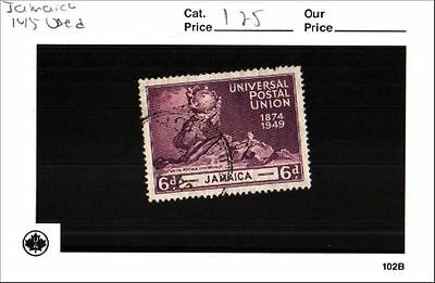 Jamaica Stamp Lot Scott 145 Used Low Combined Shipping
