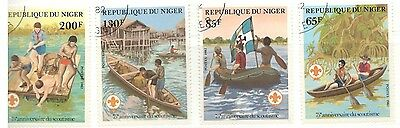 Niger Stamp Lot Scott 574-579 Used Low Combined Shipping