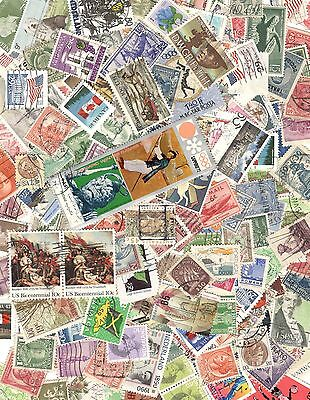 WORLD & US MIXTURE OFF PAPER From OLD STAMP Collections BUY 5-1 FREE! Free Ship