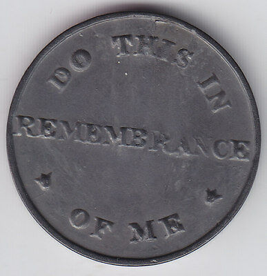 Canadian Communion Tokens - Quebec B#19 - CH CE-222. - thick flan