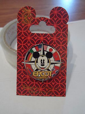 Mickey Mouse WDW Epcot Disney Trading Pin - Brand New on Card!!