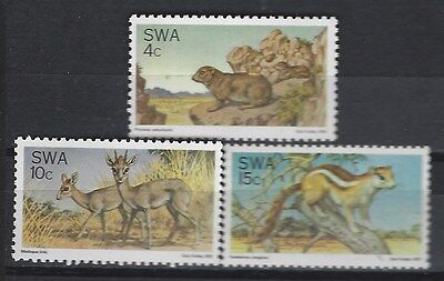 South West Africa 1976 Nature Protection Complete Mnh Set 200