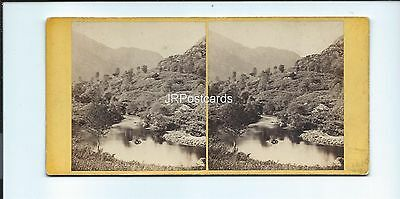 Vintage Stereoview ~ In the Pass of the Trossachs