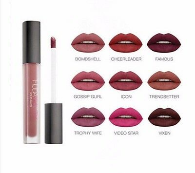 Brand New Huda Beauty Liquid Lip Matte Lipstick Lip gloss Boxed UK Seller