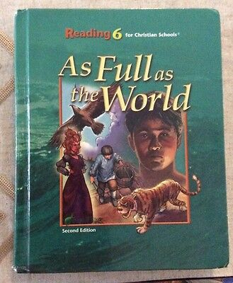 Reading Student Text Grd 6 by BJU Staff (2004, Hardcover)