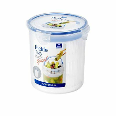 NEW Lock & Lock Special Round Container with Draining Basket 1.4L