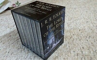 HaRPeR CoLLiNS LOTR FeLLoWSHiP oF THE RiNG AuDiO BooK CaSSeTTeS
