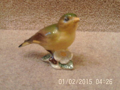 """Collectable BESWICK GREENFINCH BIRD FIGURE MODEL 2105 BEAUTIFUL GLOSS """"VINTAGE"""""""