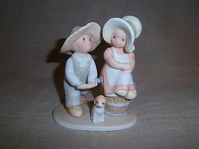 Home Interiors Homco Masterpiece Circle Of Friends Figurine - Taste & See