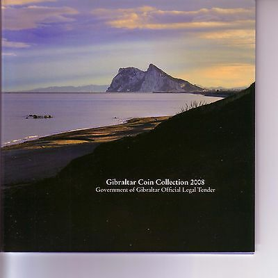 Gibraltar 2008 - official year set (2008) UNC R!/