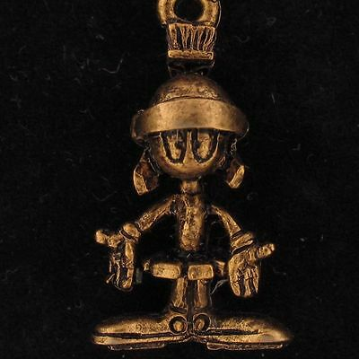 CHARM Marvin The Martian WARNER BROS LOONEY TUNES Gold NEW WB STORE 4190