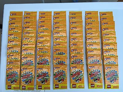 70 Packets Of Sainsbury's Lego Create The World Trading Cards - 4 Cards Per Pack