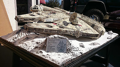 Star Wars Hoth Snow Base Diorama For Master Replicas Millennium Falcon Prop