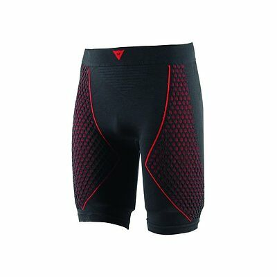 Dainese D-Core Thermo Mens Base Layer Shorts  Black/Red XS/SM
