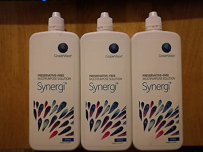 Synergi contact lens solution 3x250ml