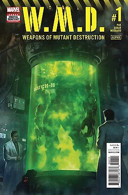 Weapons of Mutant Destruction #1 Digital Code Marvel Comics Totally Awesome Hulk