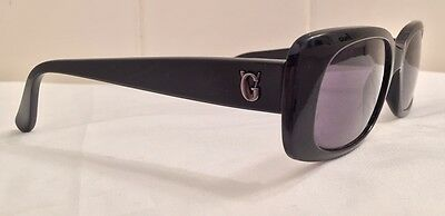 Gianni Versace Iconic Sunglasses MOD 471/G COL. 852 Black Authentic Italy VTG