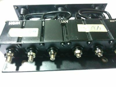 UHF 6 CAVITY DUPLEXER for radio repeater BNC connector