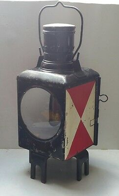 ancienne lampe LANTERNE locomotive chemin de fer TRAIN reservoir DB 77 ( SNCF )