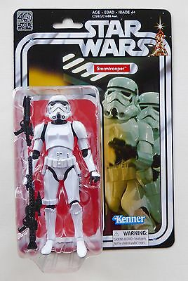 """Star Wars New Black Series 6"""" 40Th Anniversary Wave 2 Imperial Stormtrooper Moc"""