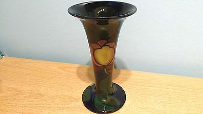 """Royal Stanley Jacobean 6"""" Trumpet Shaped Vase. Lovely Shape. Perfect Condition."""