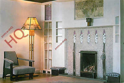 Postcard: Helensburgh, The Hill House, Drawing Room Fireplace