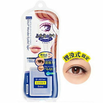 Japan DUP Wonder Eyelid Tape Double Eyelid 120pcs (Extra)