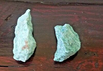 2 Pieces Fuchsite - Raw - Natural - Healers Stone, Archangel Raphael, & MORE