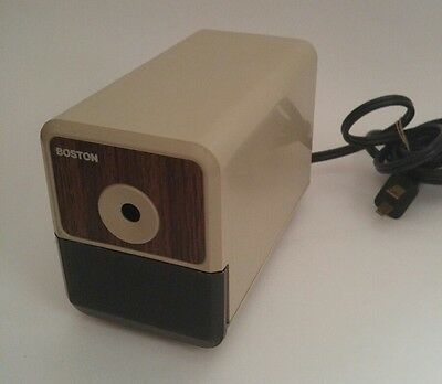 Boston Electric Pencil Sharpener- Model 18- Tested