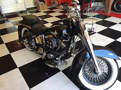 1998 Custom Built Motorcycles Other  Custom Softail Vintage Harley Style