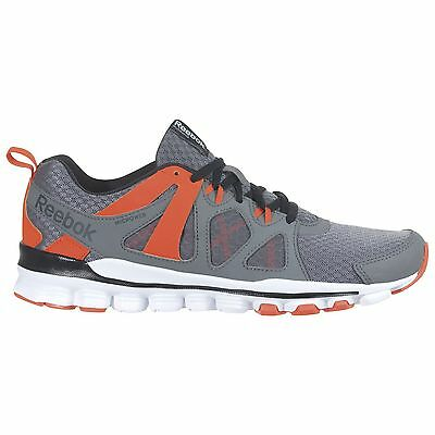 Men s Reebok Hexaffect Run 2.0 Running Shoe Gray   Orange Size 9.5   TM864-1048 f5ab11a2f